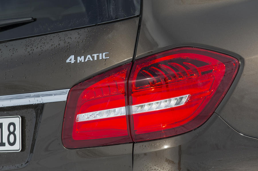 Mercedes-Benz GLS 350 d rear lights