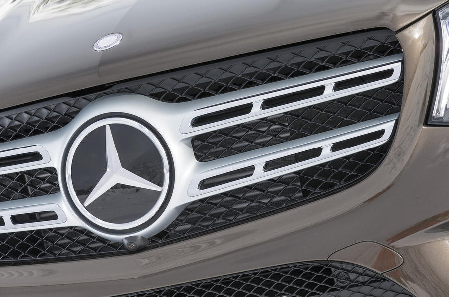 Mercedes-Benz front grille