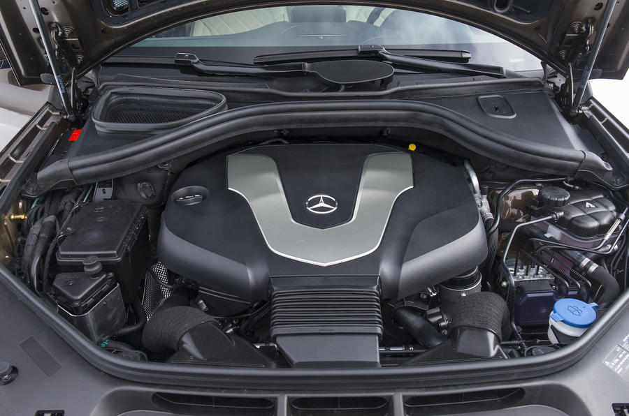 3.0-litre V6 Mercedes-Benz GLS 350 d engine
