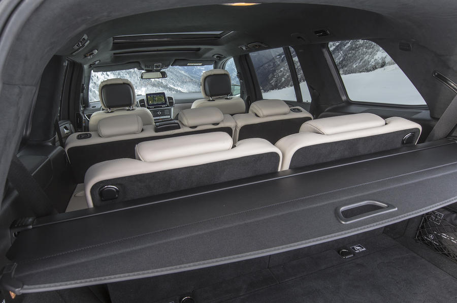 Mercedes-Benz GLS 350 d interior