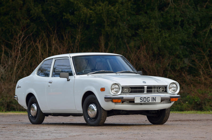 1974 first Mitsubishi sold in UK