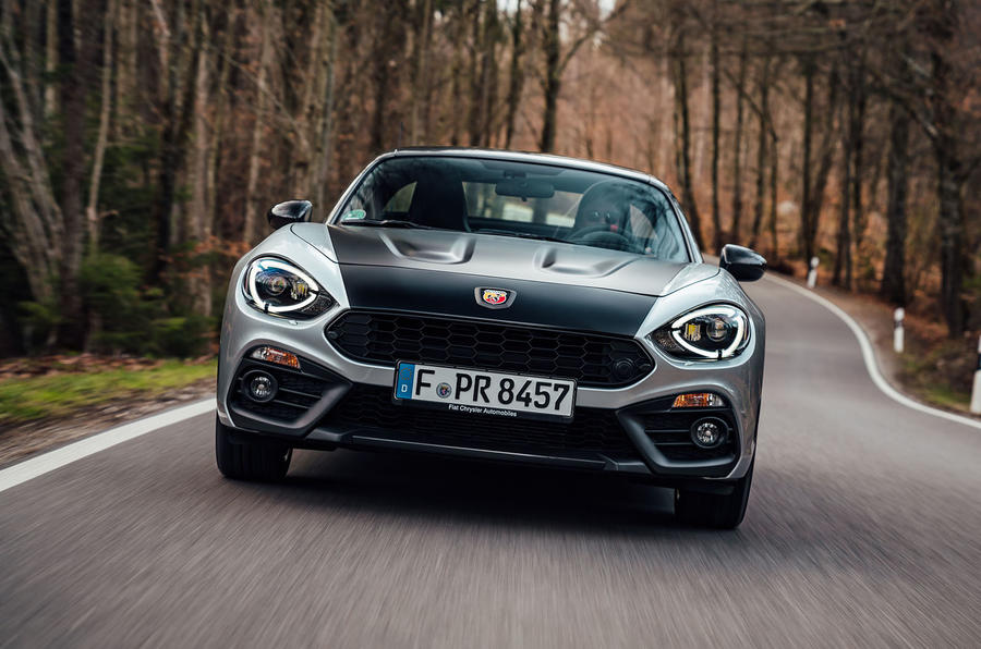 Abarth 124 GT review 2018 on the road front