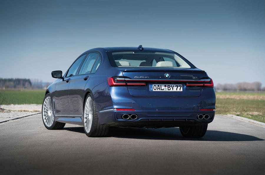 Alpina B7 2019 first drive review - static rear