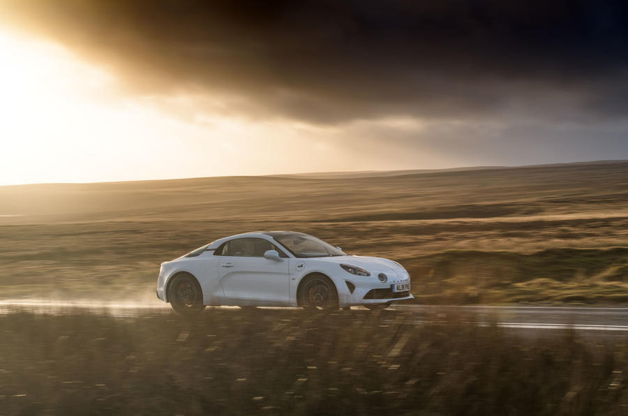 Alpine A110 S 2020 UK first drive review - on the road side