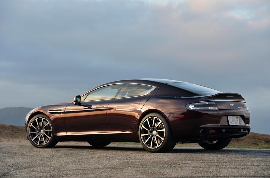 Aston Martin Rapide - static rear