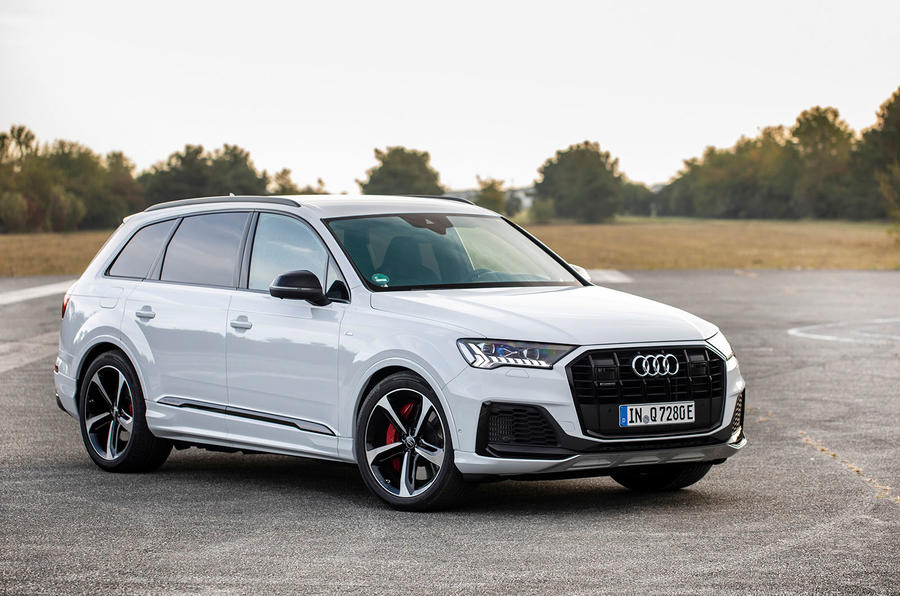 Audi Q7 TFSI e 2019 first drive review - static front