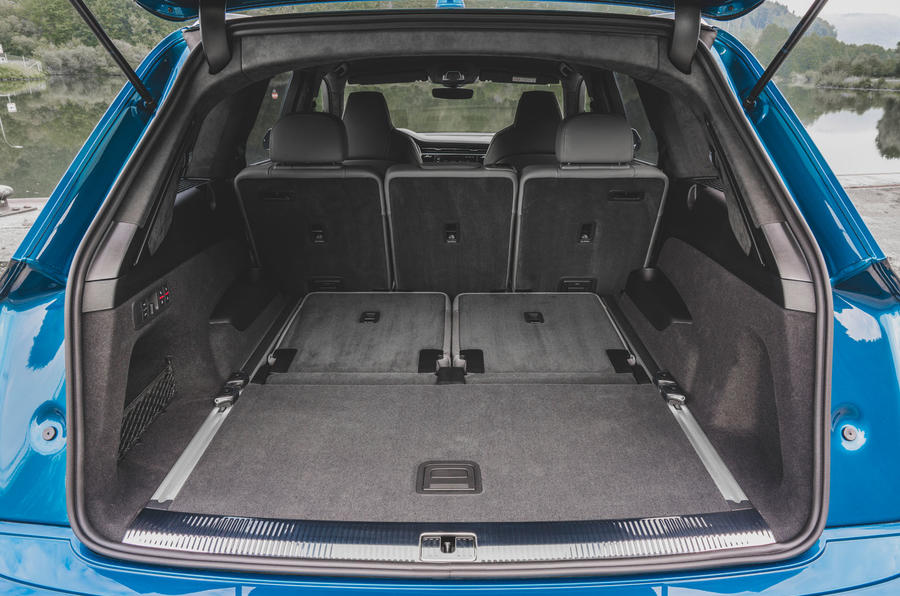 Audi SQ7 2020 first drive review - boot
