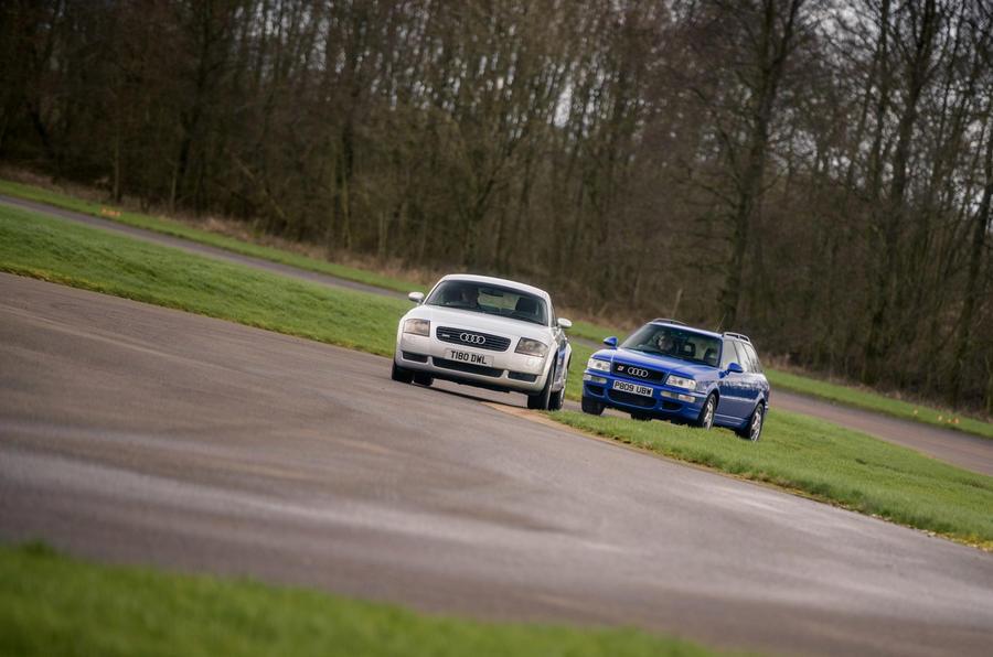 Audi TT - hero front