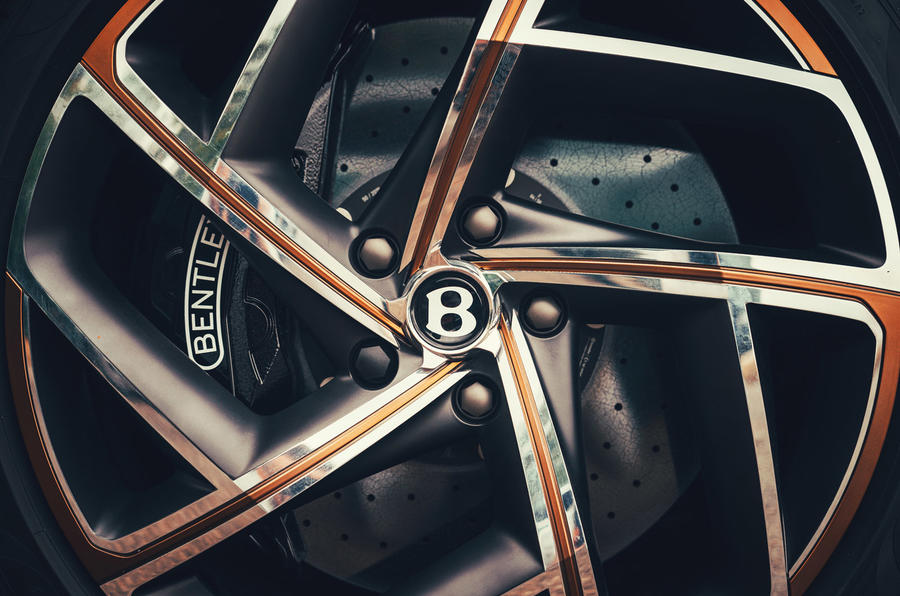 Bentley Bacalar - wheel