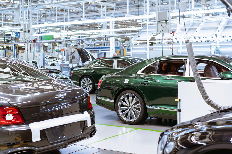 Bentley Crewe factory