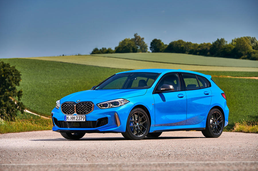 BMW 1 Series M135i 2019 first drive review - static front