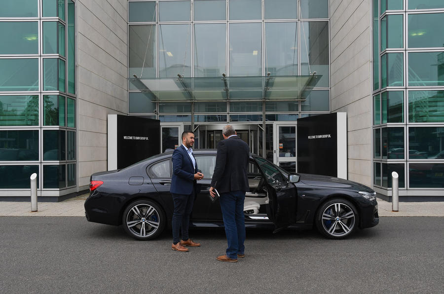 BMW 7 Series 740Ld long-term review dealer collection