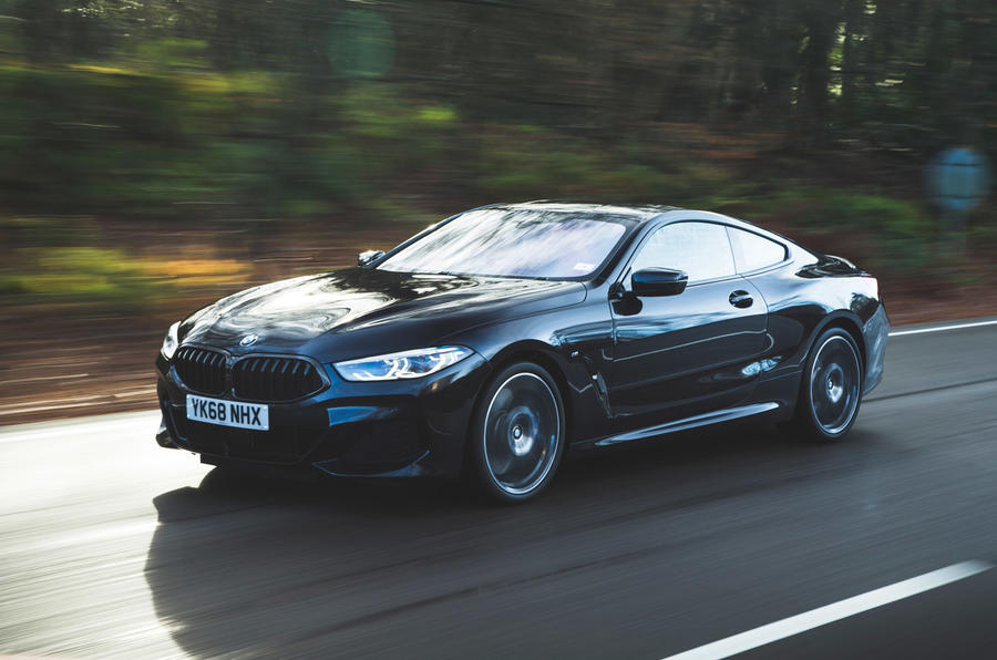 BMW 840i coupe - hero front