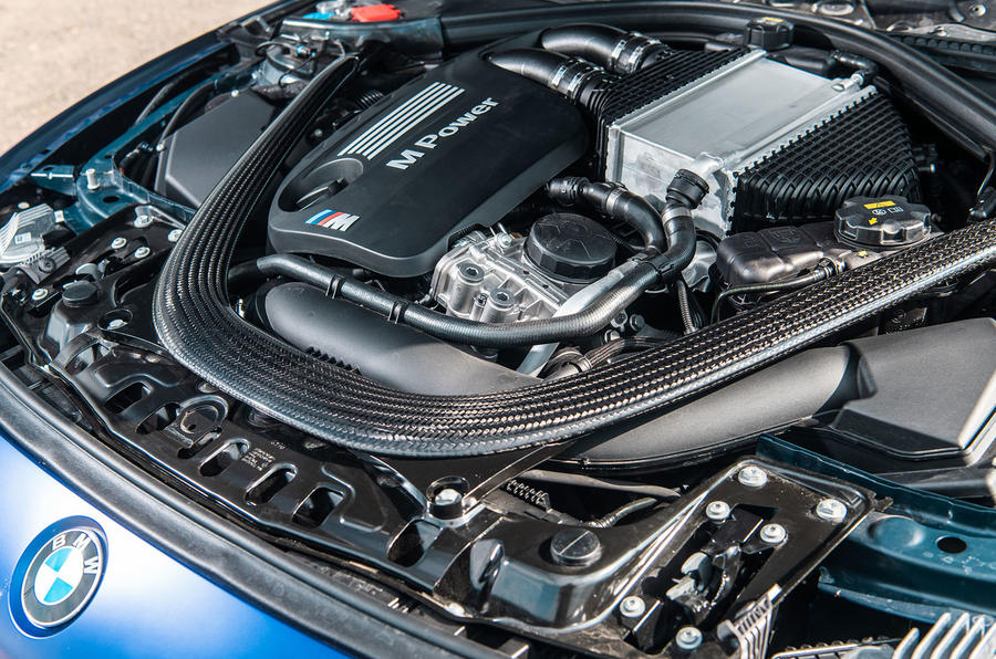 BMW M3 CS 2018 review engine