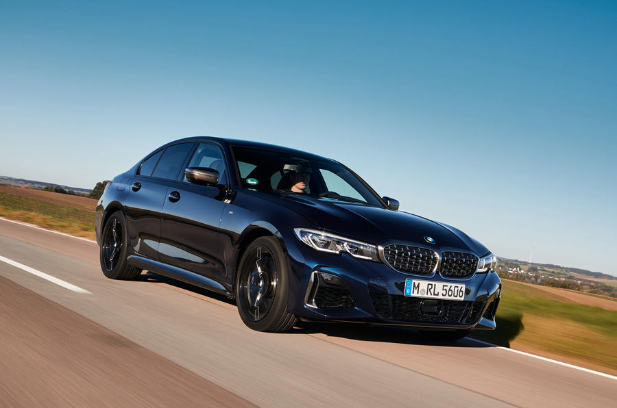 BMW M340i xDrive 2019 first drive review - on the road front