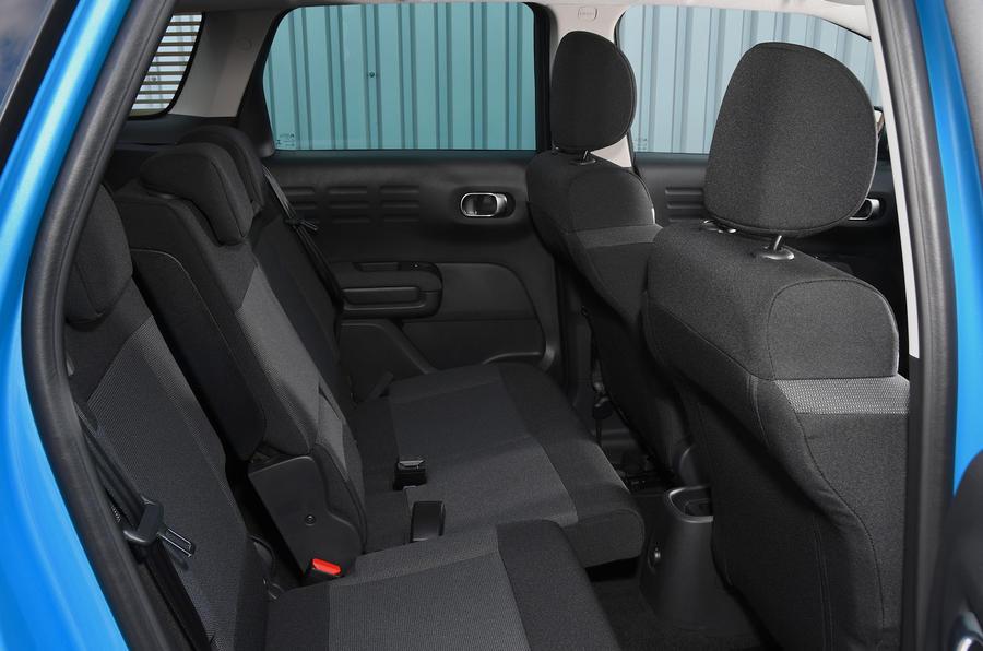 Citroen C3 Aircross Flair Puretech 130 long-term review - rear seats