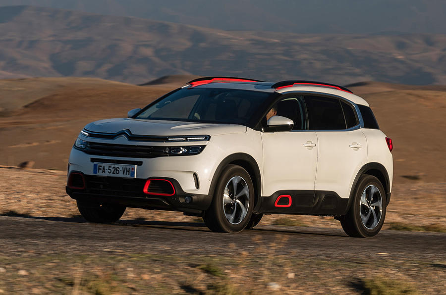 Citroen C5 Aircross 2018 first drive review - desert crossing