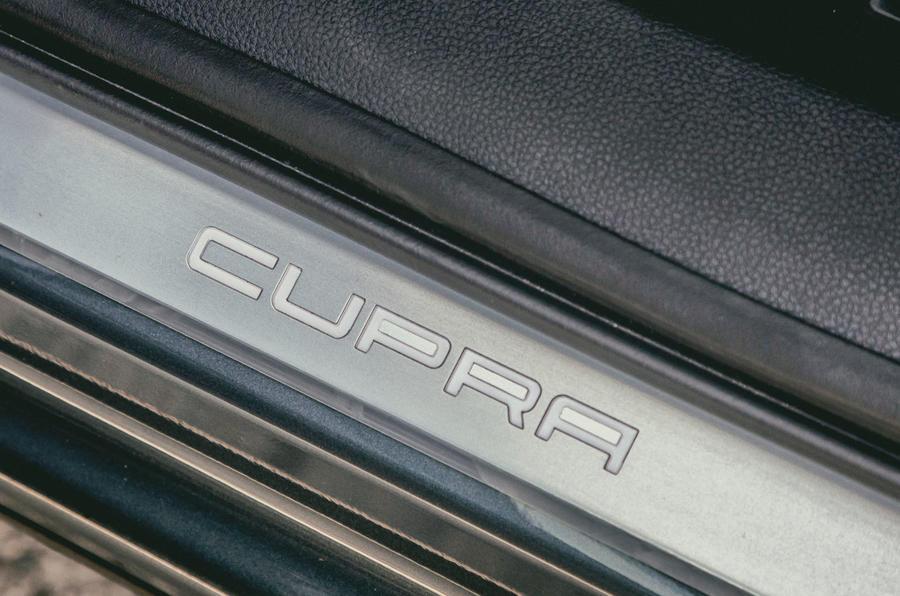 Cupra Ateca 2018 first drive review - scuff plates