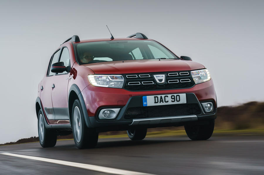 Dacia Sandero Stepway Techroad 2019 first drive review - on the road front