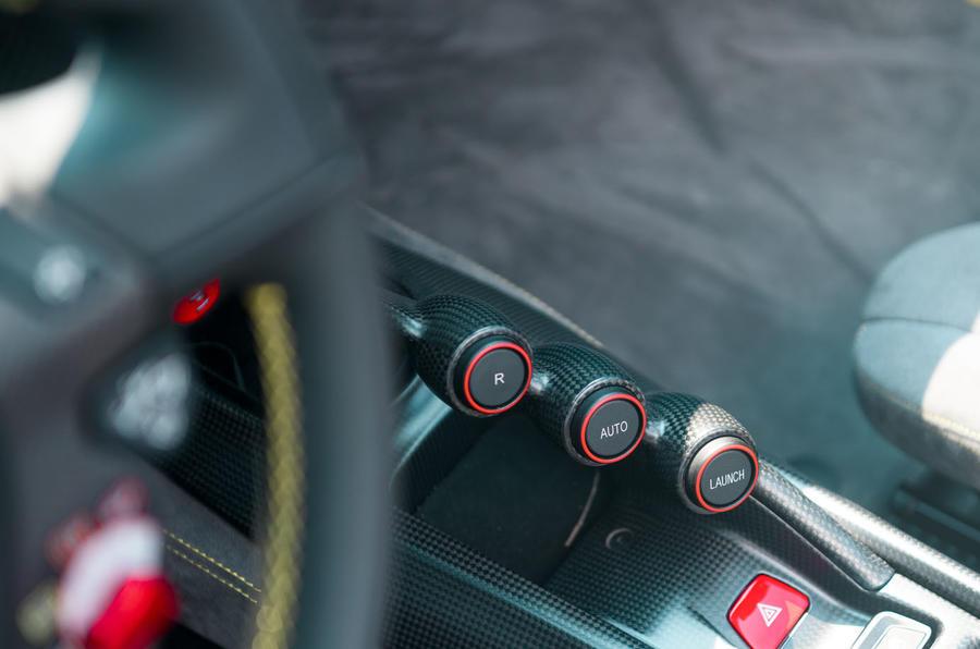 Ferrari 488 Pista Spider 2019 first drive review - launch control
