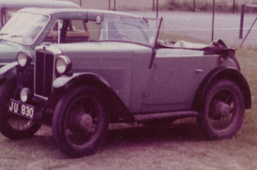 First car - Roderick Ramage