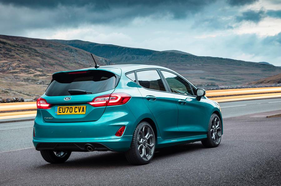 Ford Fiesta EcoBoost mHEV 2020 : premier bilan de conduite au Royaume-Uni - statique arrière