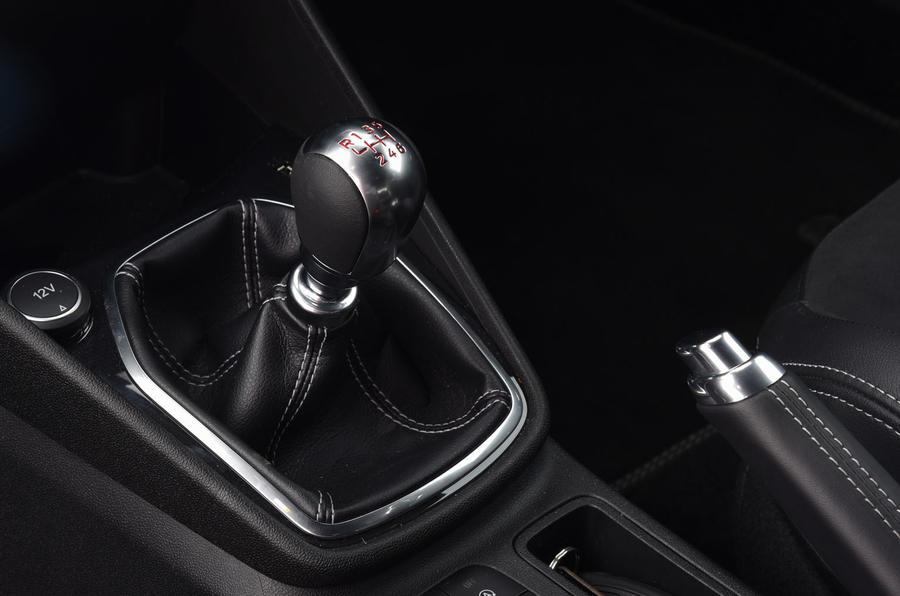 Ford Fiesta ST 2019 long-term review - gearstick