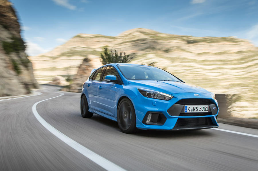 Ford Focus RS - hero front