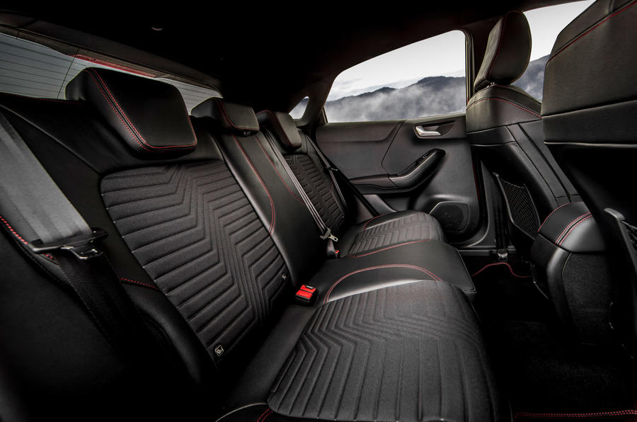 Ford Puma 2020 first drive review - rear seats