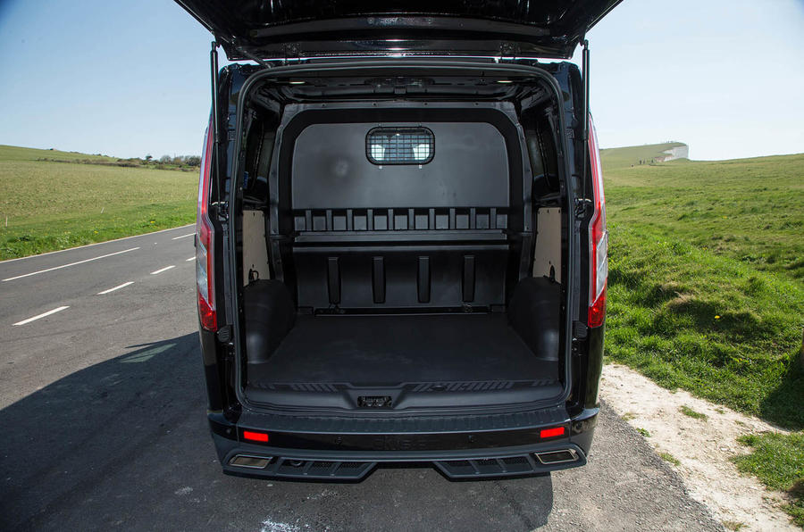 Ford Transit MS-RT custom review rear space