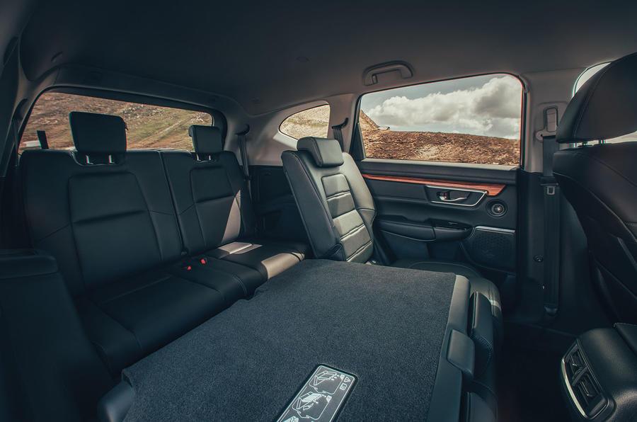 Honda CR-V 2018 first drive review flat seats