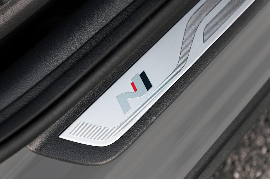 Hyundai i30 Fastback N 2019 first drive review - scuff plates