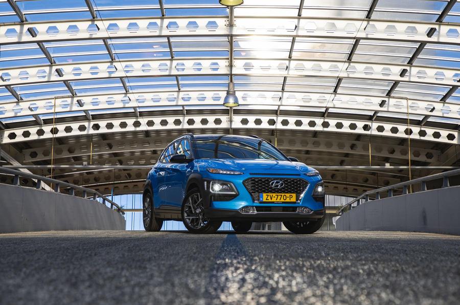 Hyundai Kona Hybrid 2019 first drive review - static