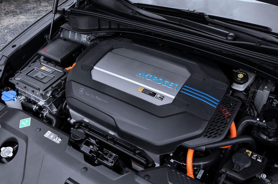 Hyundai Nexo 2019 first drive review engine