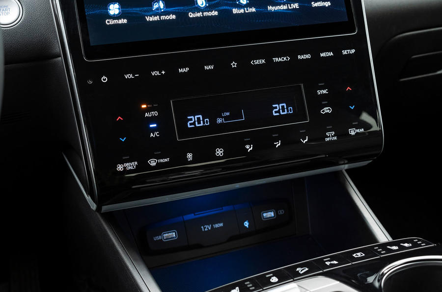 Hyundai Tucson 2020 UK first drive review - climate controls