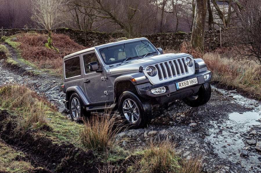 Jeep Wrangler 2019 UK first drive review - offroad