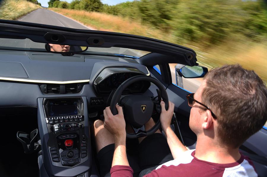 Lamborghini Aventador S 2018 first drive review MB driving