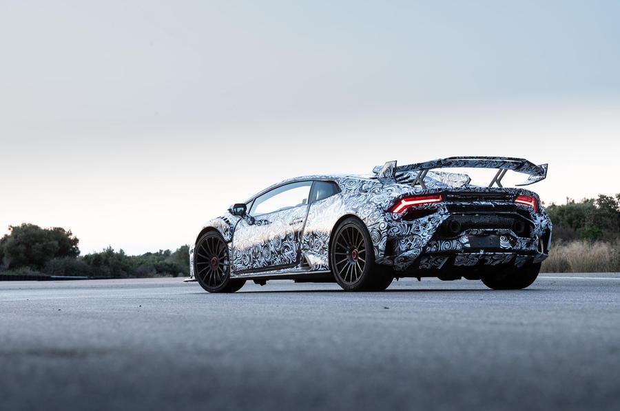 Lamborghini Huracan STO 2020 : premier bilan de conduite - statique arrière