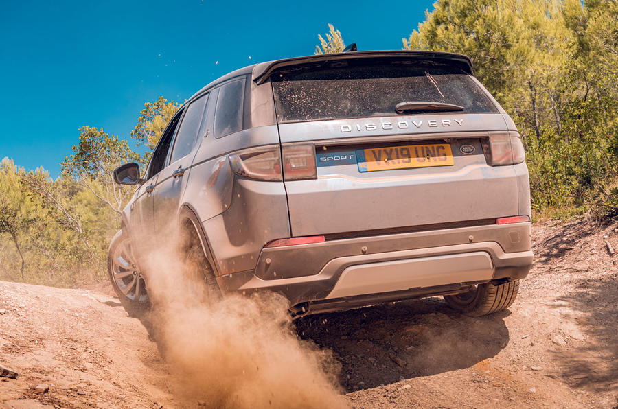 Land Rover Discovery Sport 2019 first drive review - dust