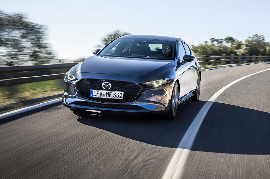 Mazda 3 2019 European first drive review - on the road