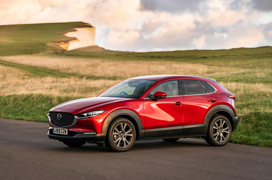 Mazda CX-30 2019 UK first drive review - static front