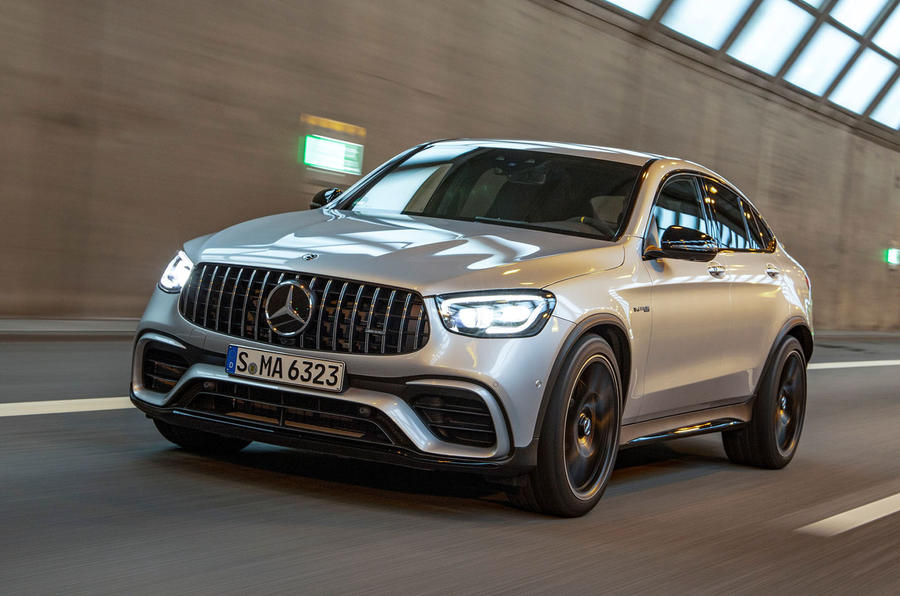Mercedes-AMG GLC 63 S Coupé 2019 first drive review - on the road front