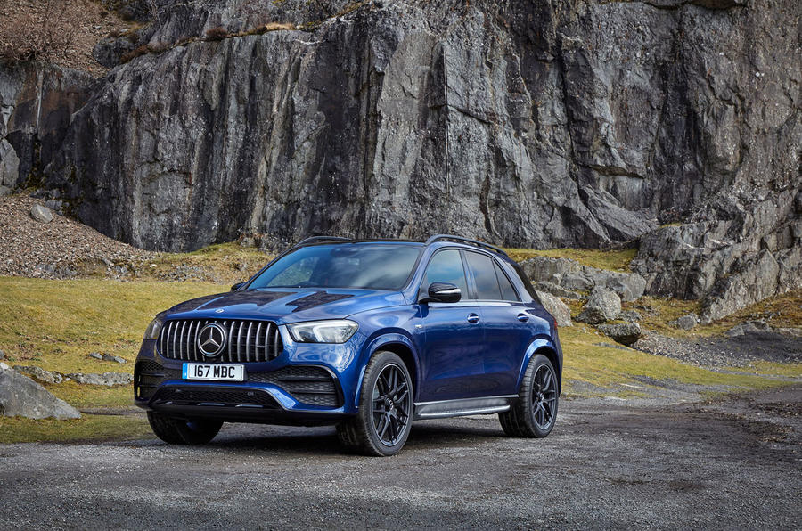 Mercedes-AMG GLE 53 2020 UK first drive review - static