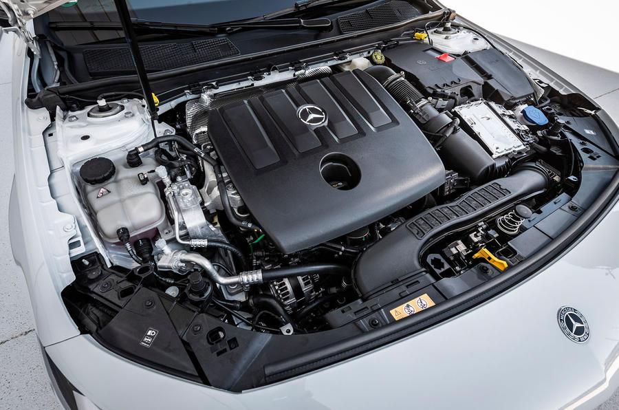 Mercedes-Benz A-Class A180D engine