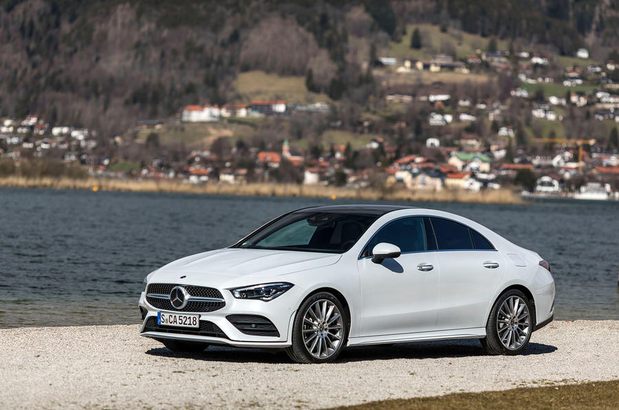 Mercedes-Benz CLA 2019 first drive review - static