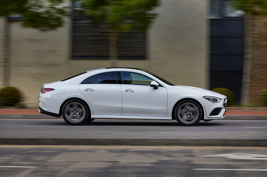Mercedes-Benz CLA 250 2019 UK first drive review - on the road side
