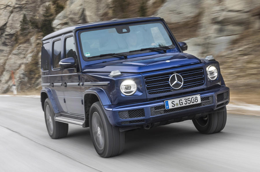 Mercedes-Benz G-Class G350d 2018 first drive review - on the road front