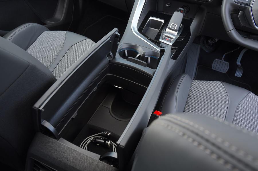 Peugeot 5008 2018 long-term review armrest storage
