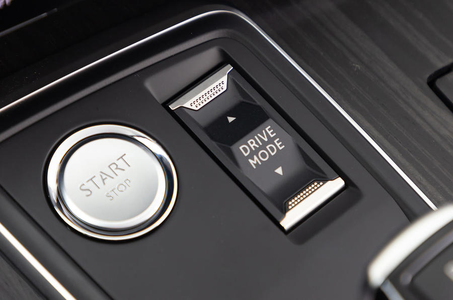 Peugeot 508 2018 review start button