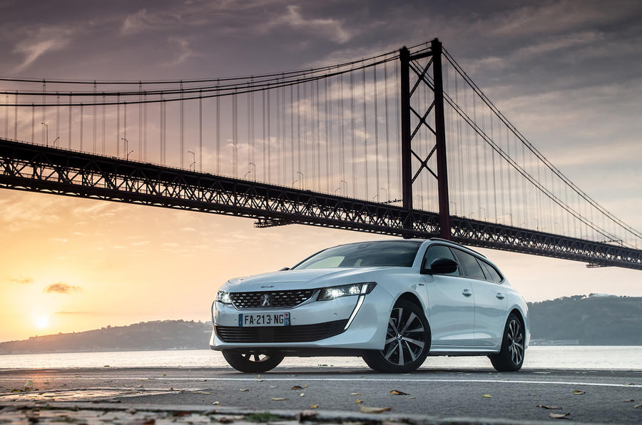 Peugeot 508 SW 2018 first drive review - static front